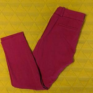 J Crew Winnie Pants Size 0 - Pink